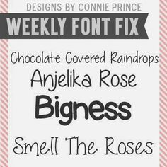 Font Fix Thursday, June 19th, 2014