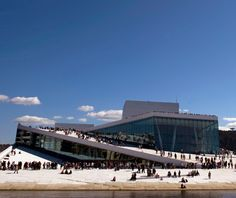 world's top new buildings: Oslo Opera House