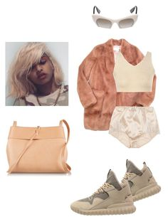 """"""".."""" by astrro on Polyvore featuring Urbancode, Kara, adidas Originals, Dolce&Gabbana, Glamorous, women's clothing, women, female, woman and misses"""