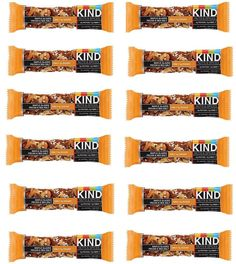 KIND Bars Maple Glazed Pecan & Sea Salt Gluten Free 12 Pack BB 11/2017 #KIND