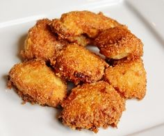 dairy free egg free soy free chicken nuggets! And they are yummy! =)