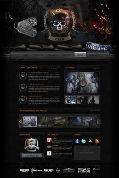 Hunter Killers Website by *pixelbudah on deviantART