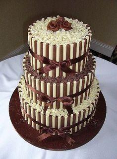 Chocolate Mint Brownies, Chocolate Sticks, Chocolate Cigarellos, Chocolate Cupcakes, Pretty Cakes, Beautiful Cakes, Amazing Cakes, Candy Cakes, Cupcake Cakes