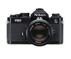 Nikon FM2 black. A fantastic camera. I used it in Antarctica under -40°C, and it never failed. And I still have it :)