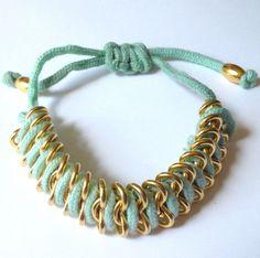 Mint Fishtail Bracelet