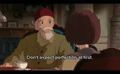 Great advice! I need to realize this more often. Whisper of the Heart <3
