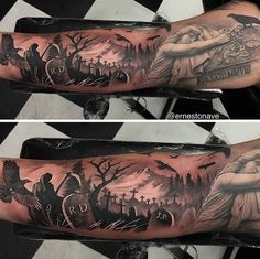 Tattoo by Ernesto Nave