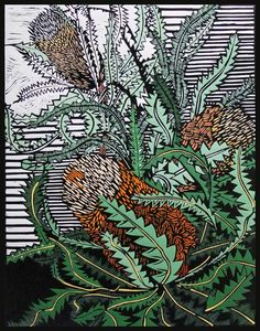 Banksia Hookeriana by Gail Kellett