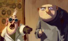 Despicable Me | Illustrator: Carlos Felipe Leon