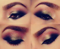 smoky neutral eye makeup