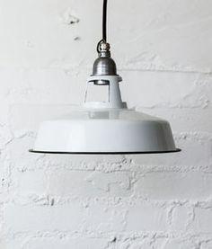Farsley Industrial Factory Pendant Light - ceiling lights