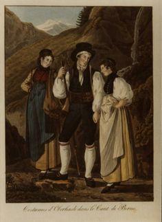 "Swiss National Archives,  Joseph Reinhard, Berner Oberland ""Oberhasli"""