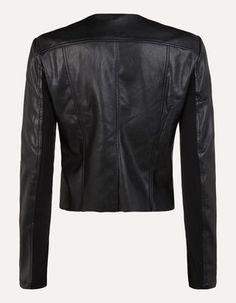 Jacke in Lederoptik Lifestyle Trends, New Fashion, Leather Jacket, Jackets, Studded Leather Jacket, New Trends, Leather Jackets, Jacket, Suit Jackets
