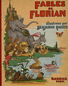 Fables de Florian illustrees par Benjamin Rabier, 1936 (cover)