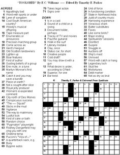 Crossword Puzzles with Fun Themes and Lively Fill to Print and Solve: Crossword Puzzles to Print and Solve - Volume 31 - Page 6