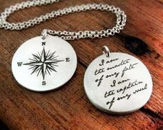 """Compass- Inspiration for the tattoo on my left foot. Poem- """"Invictus"""" by William Ernest Henley."""