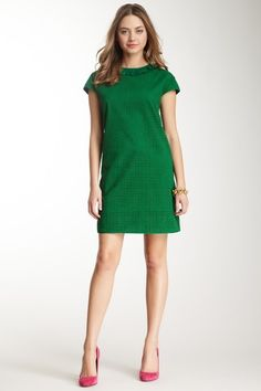Ruffle Eyelet Dress by See by Chloe on @HauteLook -gorgeous spring green perfect for a Board meeting