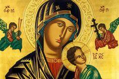 Oración por los hijos a la Virgen del Perpetuo Socorro