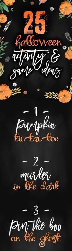 Here is a list of 25 Halloween game & activity ideas that you can play at your Halloween get-together. Spooky, geared towards kids, and fun things to do! Halloween This Year, Halloween Games, Halloween Party, Halloween 2018, Happy Halloween, Activity Games, Activity Ideas, Activities, Holidays With Kids