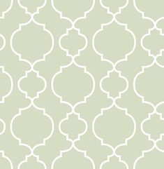 Desiree Sage Quatrefoil Wallpaper Brewster Wallcoverings Greens Contemporary Wallpaper Geometric Wallpaper Trellis Wallpaper, Non-Woven, Easy to clean , Easy to wash, Easy to strip Trellis Wallpaper, Botanical Wallpaper, Damask Wallpaper, Embossed Wallpaper, Wallpaper Panels, Wallpaper Samples, Geometric Wallpaper, Wallpaper Roll, Wall Wallpaper