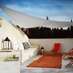 Mrs Boho: Terrazas: una siesta en la terraza