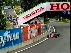 VITORIA HISTORICA da Ferrari com Alboreto e Johansson no GP do Canadá de...