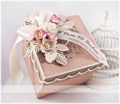 made by żyrafka: Pudełeczka na urodziny