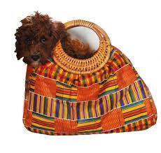 A kente bag
