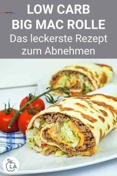Big Mac Rolle – Eines der besten Low Carb Abendessen zum Abnehmen This Big Mac Roll is a delicious low carb recipe with meat. Check out the German guide to healthy slimming dinner here. Healthy Meal Prep, Healthy Dinner Recipes, Low Carb Recipes, Healthy Snacks, Healthy Eating, Healthy Cooking, Big Mac, Low Carb Lunch, Indian Food Recipes