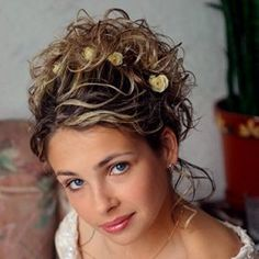 curly updo in a pony tail | ... hairstyles loose updo wedding hairstyles wedding hairstyles loose updo