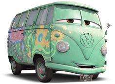 New cars pixar gif 48 Ideas Volkswagen, Vw T1, Lightning Mcqueen, Disney Tangled, Jimi Hendrix, Disney Cars Movie, Movie Cars, Stickers, Childhood