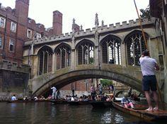 Bridge of Sighs, Cambridge, UK