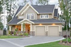 photo gallery exterior house colors | Home exterior colors
