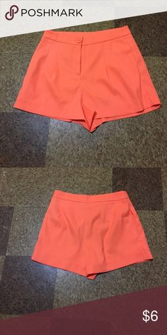 702ccd0cce4 New wit no tags forever 21 shorts Orange bright color Shorts cute and sexy.  Forever 21 Shorts Jean Shorts