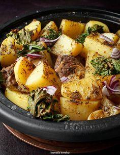 KLEFTIKO Z INDYKA Zapiekany indyk z ziemniakami, czosnkiem, oregano i cytryną