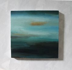 Coast, an abstract landscape painting