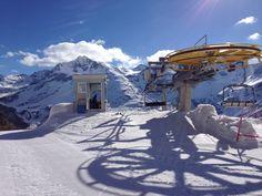 Sulden Skigebiet Langenstein April 2014