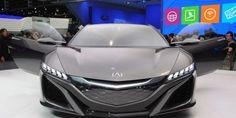 Acura nsx concept detroit 2017 Latest Car Photos HD download - Download HD Wallpaper
