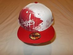 Los Angeles Dodgers Overlay 59Fifty Size 7 3/8 Hat Cap NEW!!!