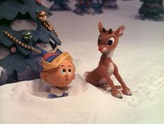 I got: Rudolph The Red Nosed Reindeer! Which Classic Christmas Special Should You Watch Based On .