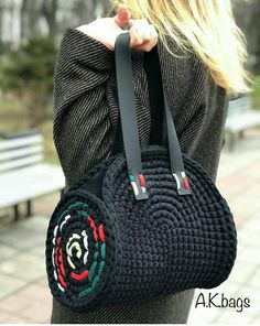 - ♥️♥️♥️ …слова тут зайві … ♥ ️ ♥ ️ ♥ ️ … the words here are superfluous … - Mode Crochet, Crochet Tote, Crochet Handbags, Crochet Purses, Diy Crochet, Sac Granny Square, Yarn Bag, Bag Pattern Free, Simple Bags