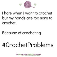 I hate when this happens! #CrochetProblems