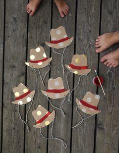 Eine lässige Cowboyparty zum 7. Geburtstag - wasfürmich