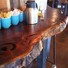 Awesome wooden countertop!