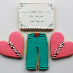 Pants Party Valentine Gift Box  4 Cookies by whippedbakeshop, $24.00  I just had to include these very funny cookies.  Enjoy!  :)