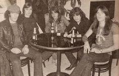 AC/DC, in a bar