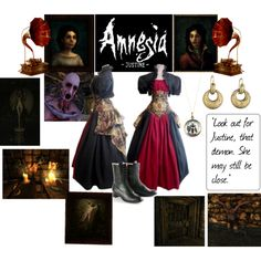 Designer Clothes, Shoes & Bags for Women Scary Games, Fandom Fashion, Amnesia, The Darkest, Nerd, Geek Stuff, Cosplay, Style Inspiration, Polyvore