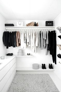 Trendy Bedroom Closet Organization Wardrobe Organisation Tips Wardrobe Organisation, Closet Organization, Organization Ideas, Wardrobe Storage, Closet Storage, Storage Ideas, Storage Design, Storage Drawers, Open Clothes Storage