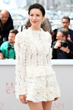 MQ/Fan Pictures of Caitriona Balfe and the cast of 'Money Monster' at the Cannes Film Festival Photocall See more pictures after the jump
