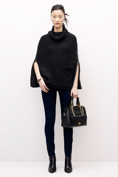 Ann Taylor Fall 2014 Lookbook - Neutral Basics For Work